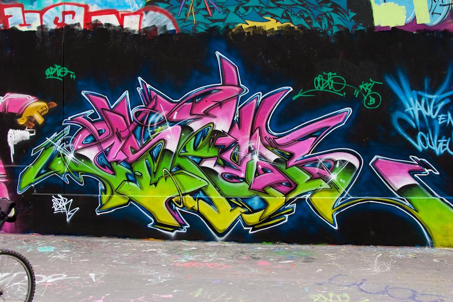 Graffiti @ Paris (Fran...