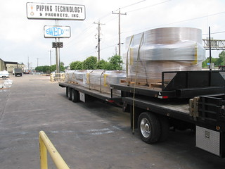 Three 12' x 8' Rectangular Expansion Joints with Full Radius Corners | by Pipe Supports and Expansion Joints
