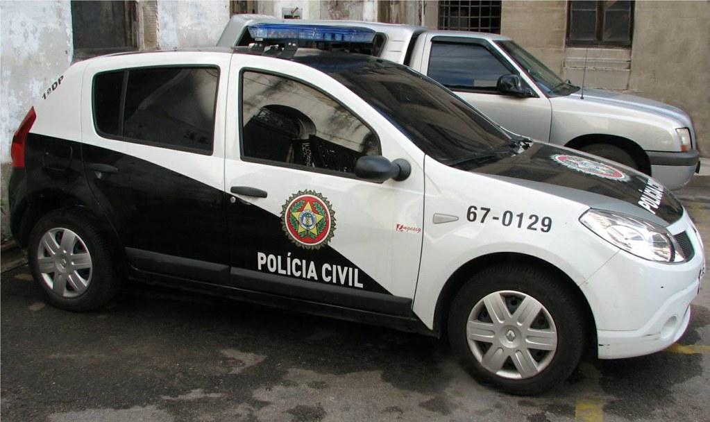 Viatura Policial Rio De Janeiro Police Car 2010