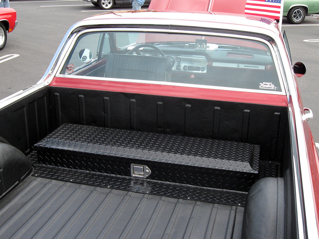 El Camino bed toolbox | This is the only El Camino I have ...