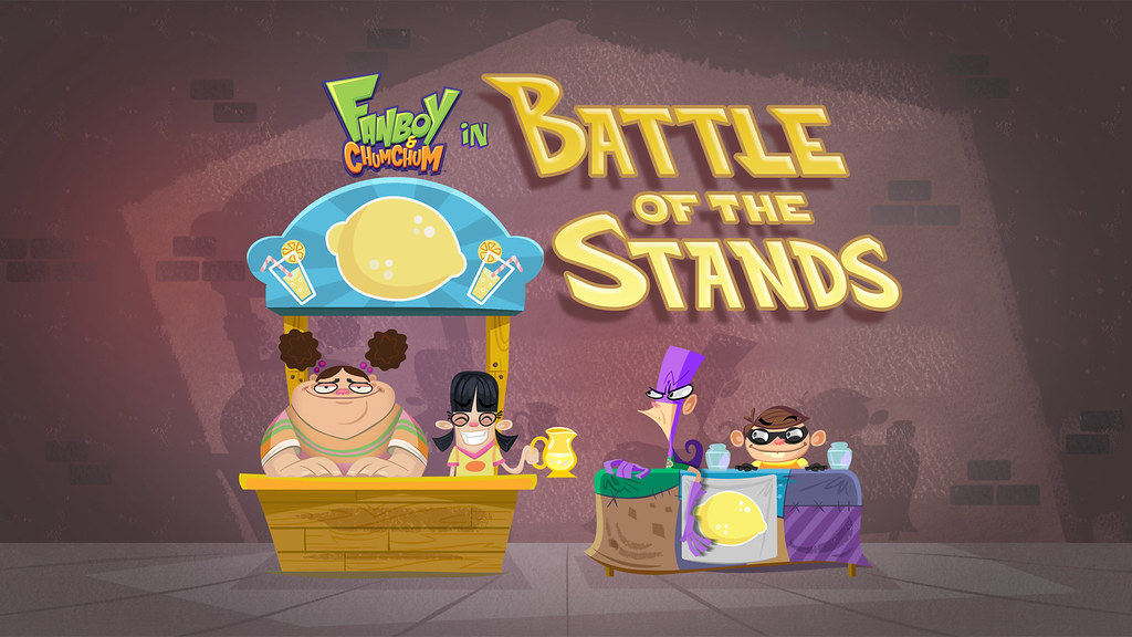 """""""Battle of the Stands"""" Title Card 