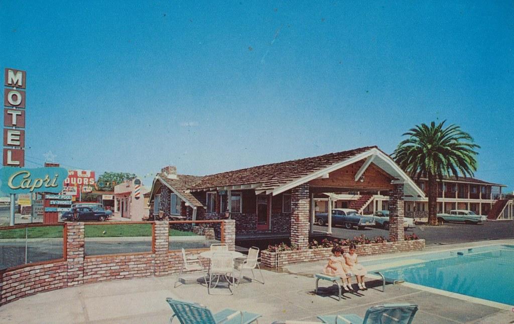 Capri Motel - Santa Clara, California