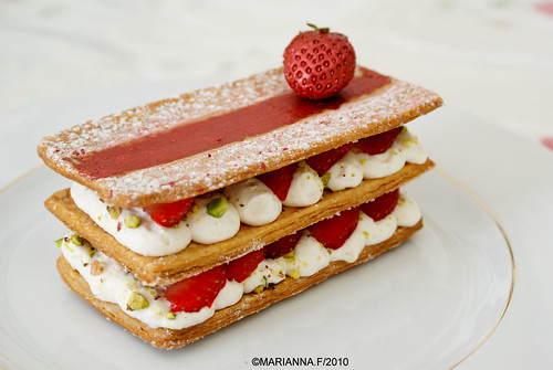 strawberry mille feuille | by mariannaF