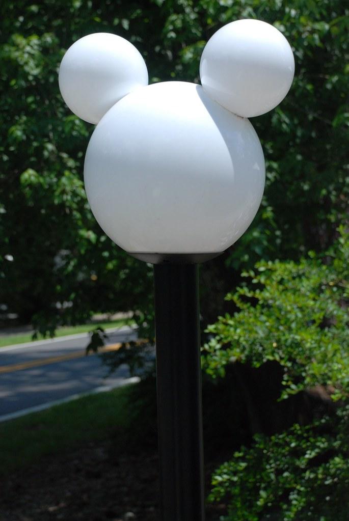 Elegant ... Mickey Mouse Lamp Post | By Joe Shlabotnik