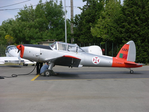 1321 / F-AZMC a Portuguese built Chipmunk at Salon Eyguieres | by Jerry Gunner