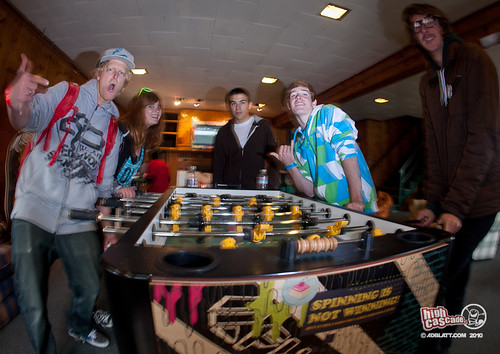 Lodge Foosball | by High Cascade Camps