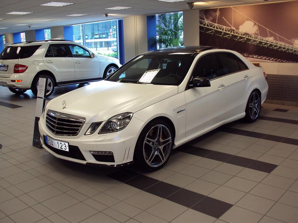 Mercedes benz e63 amg nakhon100 flickr for New white mercedes benz