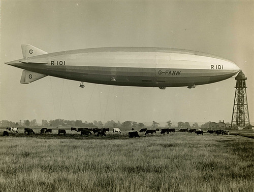 R101 and cows | by The National Archives UK