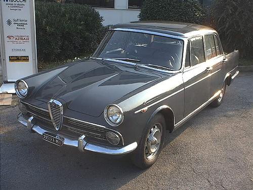 Alfa Romeo 2000 Berlina 1961 Oleg Kondakov Flickr