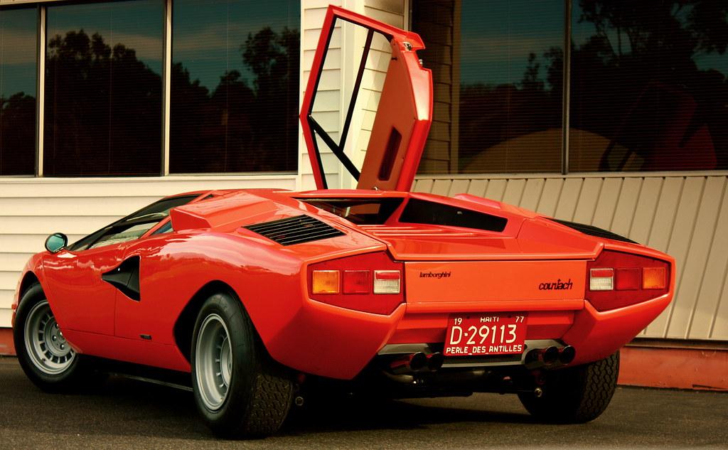 Ex-Albert Silvera 1974 Lamborghini Countach LP400   Shown wi…   Flickr