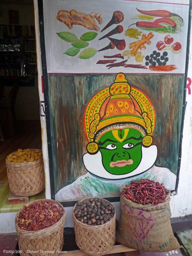 Specerijen spices 15 11 2009 india cochin kerala for Arabische havenstad