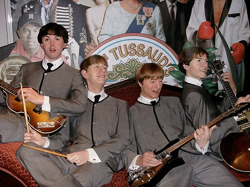 Beatles @Madame Tussau...