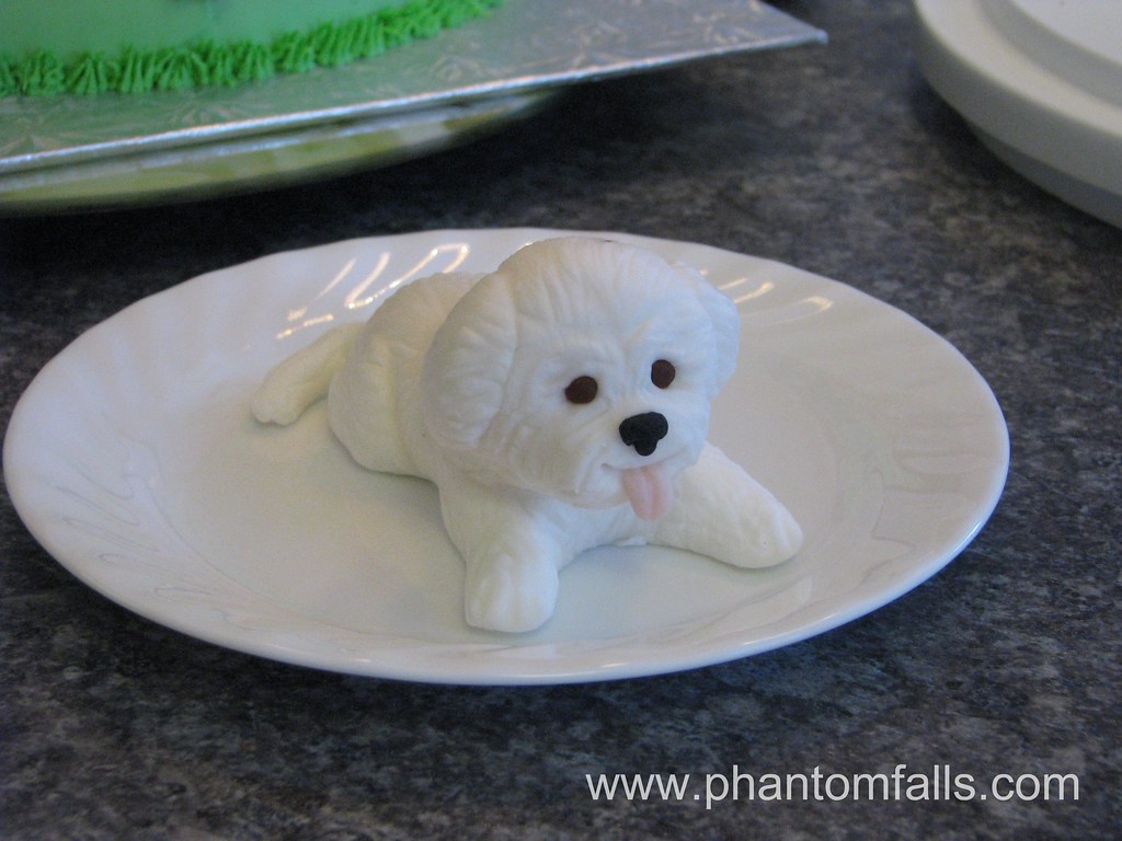 how to make a fondant puppy
