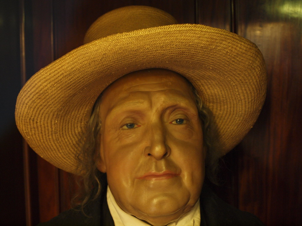 Jeremy Bentham | ... and his famous pickled 'auto-icon ... Jeremy Bentham