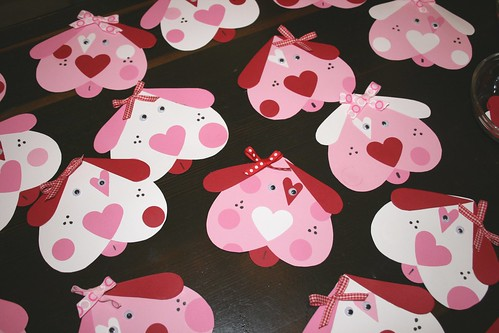 Puppy Love Valentine Cards | by Bunches and Bits {Karina}