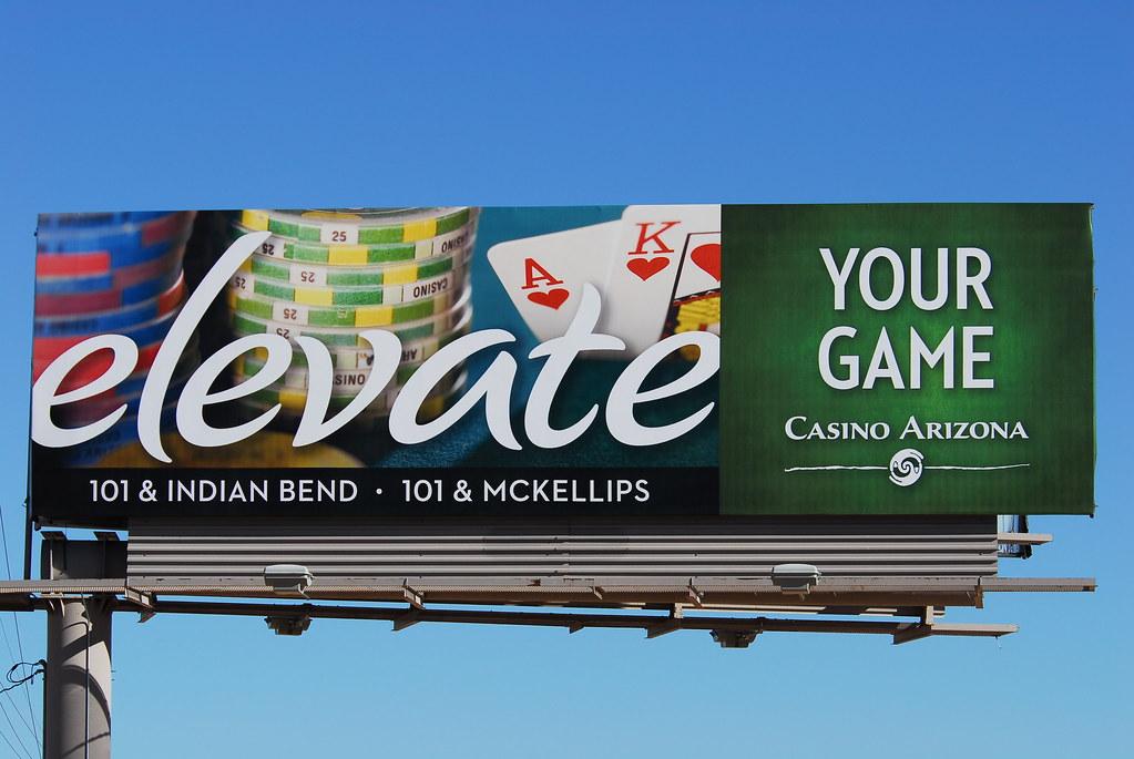 Casino billboard moes black jack-gambling