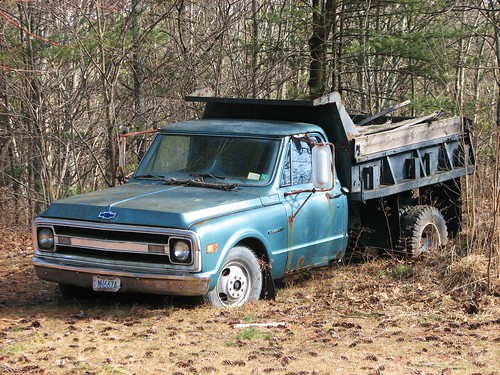67 72 Chevy Truck Forum >> A 1969 CHEVY DUMP TRUCK IN FEB 2010 | Nice old truck ...