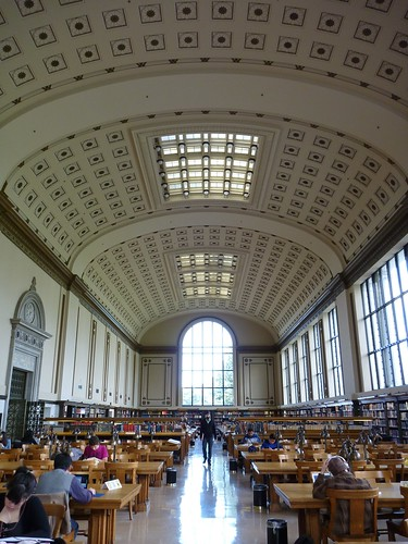 Reading Room In Doe Library