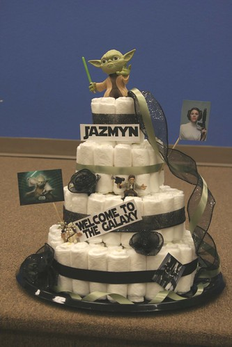 Starwars Diaper Cake Some Friends Of Ours Had A Star