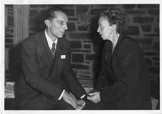 Frédéric Joliot (1900-1958) and Irène Joliot-Curie (1897-1956), 1940s | by Smithsonian Institution