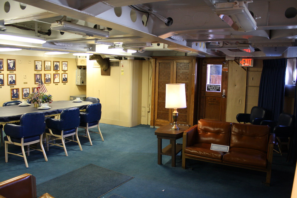 Uss New Jersey Captain S In Port Cabin The Captain S