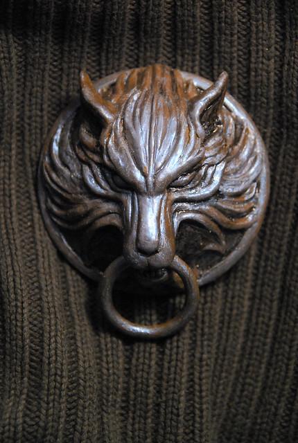 ... Cloudu0027s Wolf Medallion (FFVII) | By Chosetec