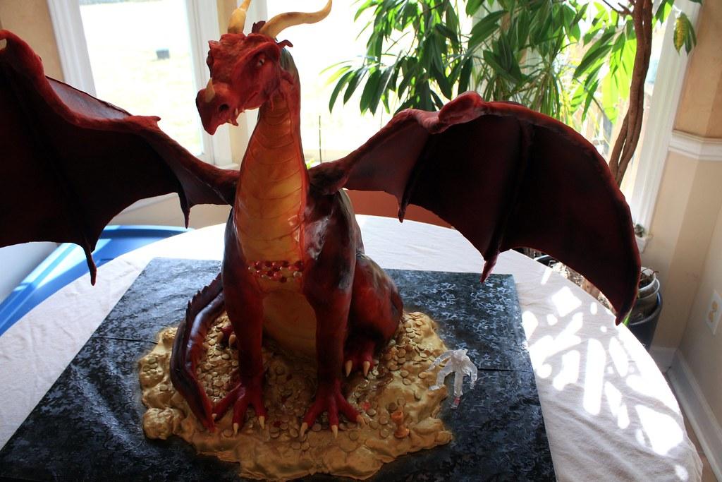 how to make a dragon cake youtube