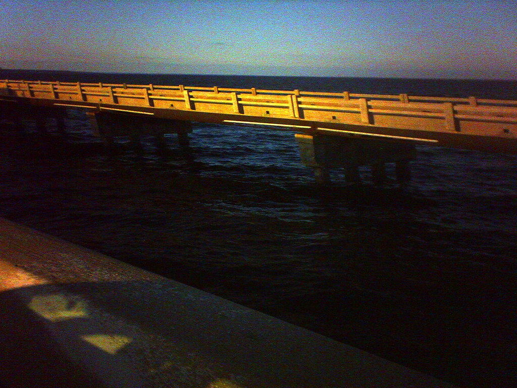 Old pensacola fishing pier 3 here is a shot of the for Pensacola beach fishing pier