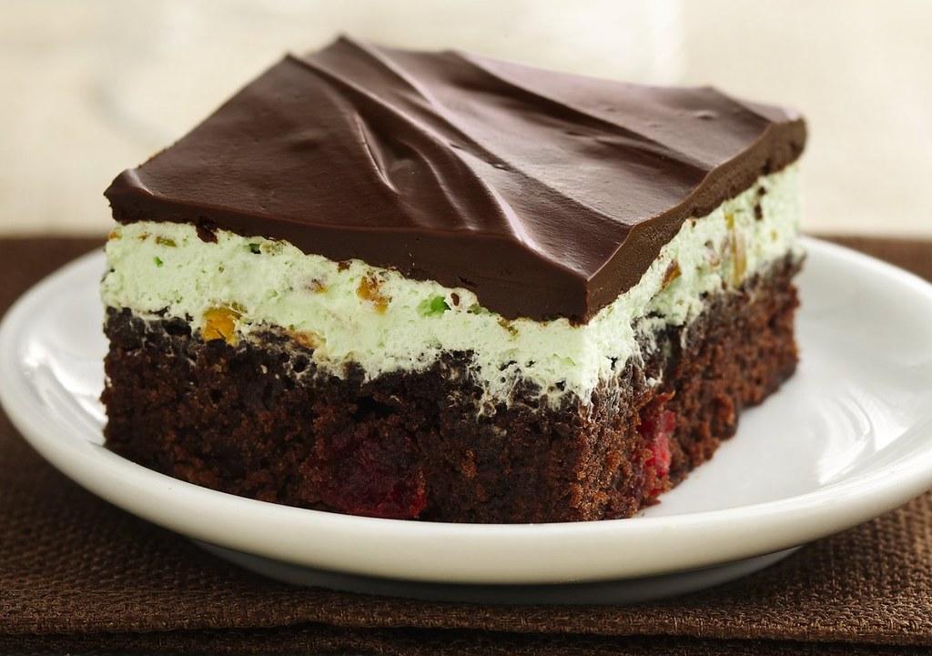 Chocolate Cherry Pistachio Brownies Ingredients 1 Box
