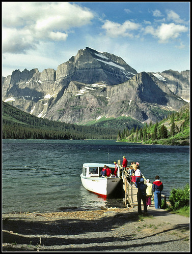 Lake Josephine in Glacier National Park - 1983 | by sjb4photos