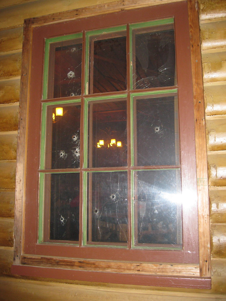 Bullet Holes - Little Bohemia Lodge - Manitowish Waters, W ...