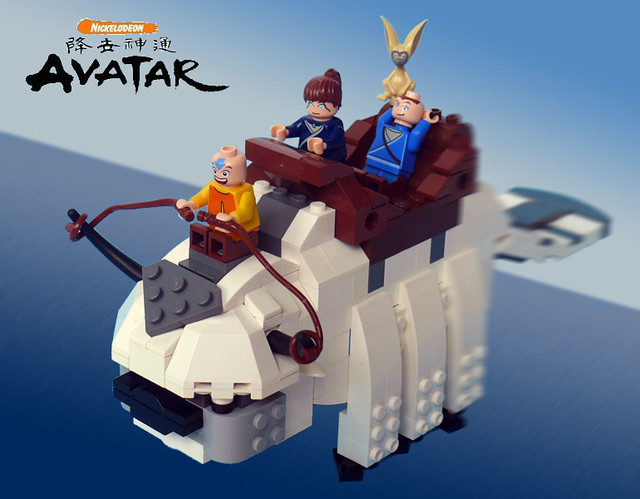 Lego Appa | I'm a huge fan of Avatar: The Last Airbender. Un ...: https://www.flickr.com/photos/23397895@N08/4477900463