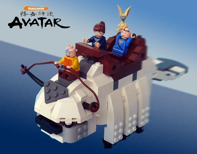 Lego Appa   I'm a huge fan of Avatar: The Last Airbender. Un ...: https://www.flickr.com/photos/23397895@N08/4477900463