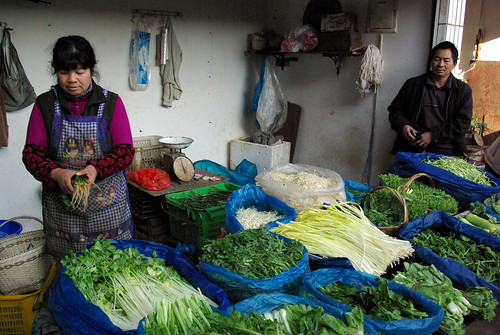 Veg Seller, China | by The Hungry Cyclist