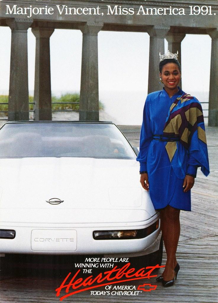 1991 Chevrolet Corvette Marjorie Vincent Miss America 19