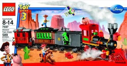 New Toy Story 3 Train : Lego toy story western train chase found on amazon