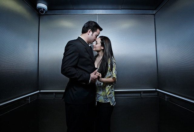 Love in an elevator with bf 5