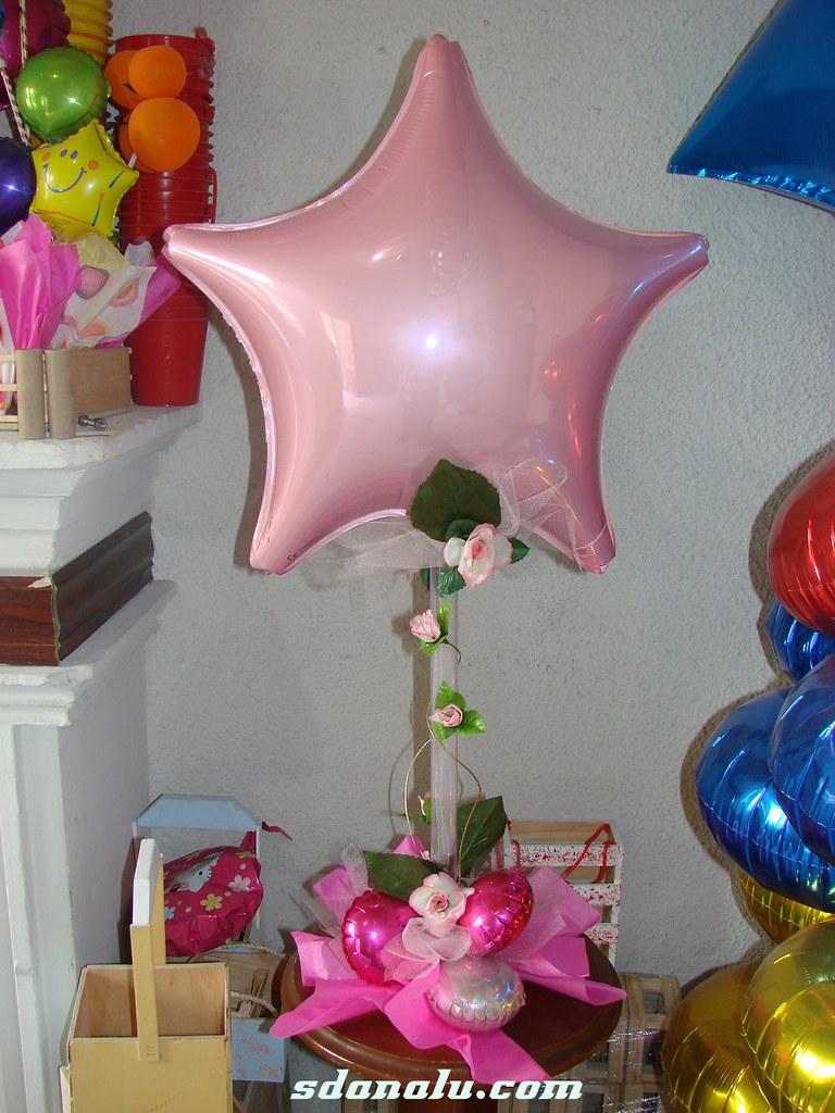 Centro de mesa con globos para xv a os visita sdanalu for Globos para quince anos