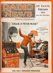 Radio News cover, Feb. 1924 | by 16_sparrows
