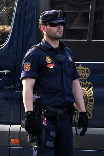 Anti Riot Spanish Police U I P Cuerpo Nacional De Polic Flickr