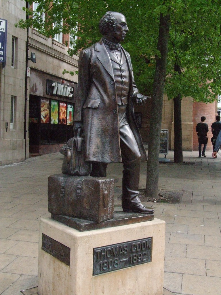 28042010 - 033 Leicester - Thomas Cook statue   B   Flickr