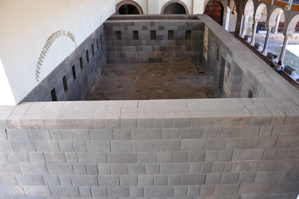 One Of The Original Rooms Of The Temple Of Coricancha Cuz
