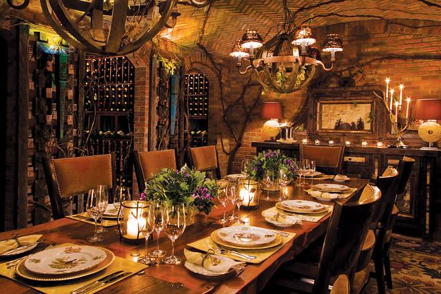 Private Dining In The Wine Cellar Dine Under Brick