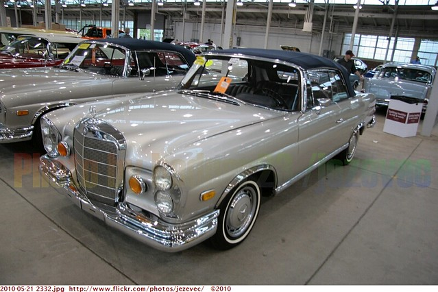 """1965 Mercedes-Benz 220SE Convertible used for the movie """"T ..."""