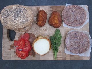 Burgers and Toppings for BBQ | by veganbackpacker
