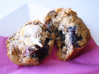 Blueberry Banana Muffin | by Croquer a pleines dents