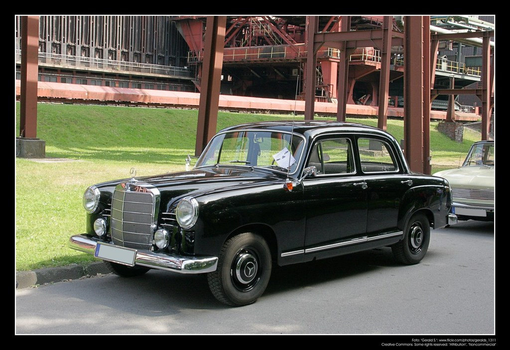 White Mercedes Benz >> 1953 Mercedes W 120 (180 Ponton) (06) | The Mercedes-Benz W1… | Flickr