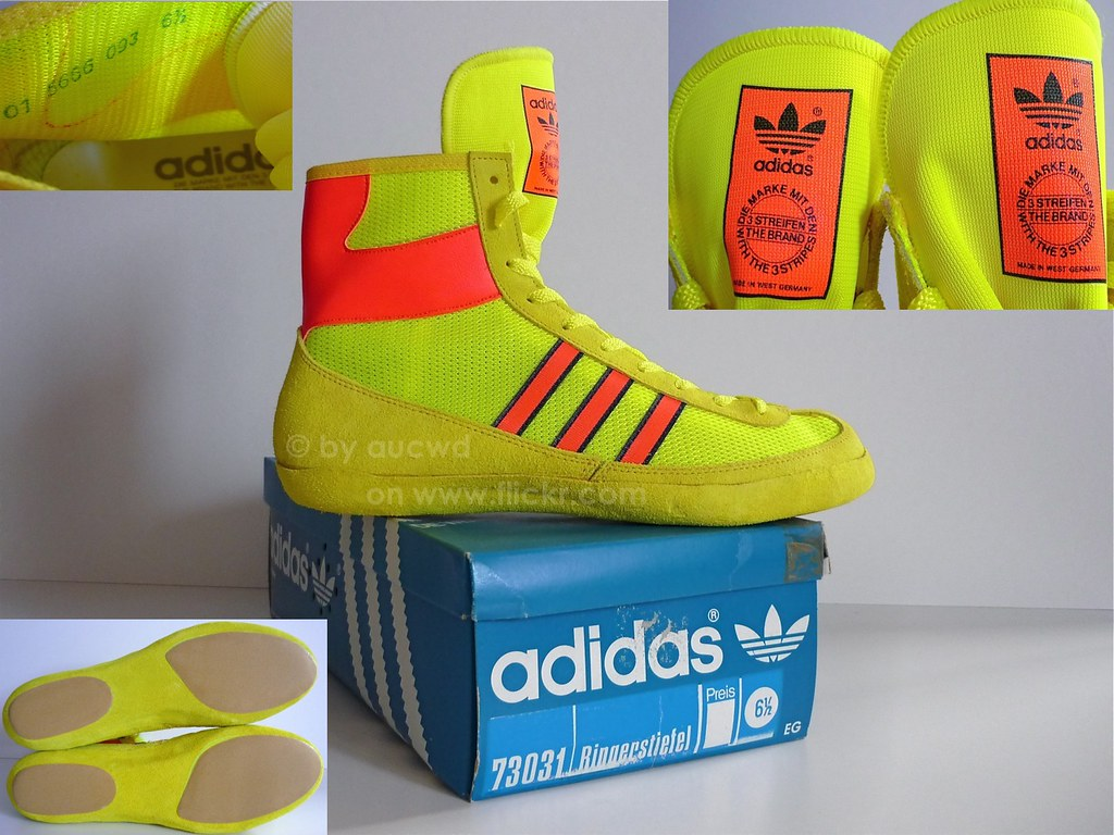 UNWORN 70`S / 80`S VINTAGE ADIDAS FREESTYLE WRESTLING SHOE… | Flickr