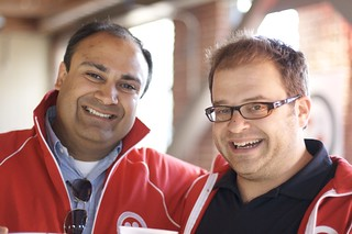 Manu Kumar and Jeff Lawson | by Twilio