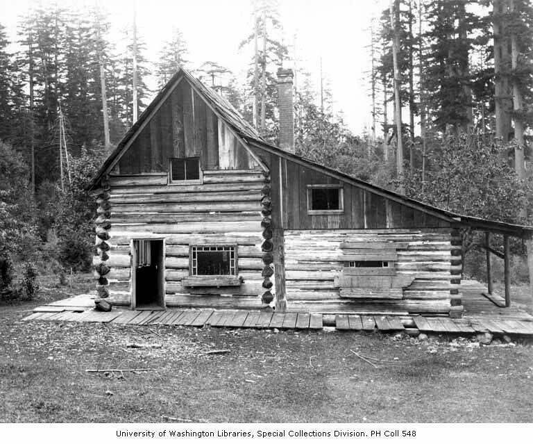Lindsley Family Log Cabin Near Present Day Site Of Northga